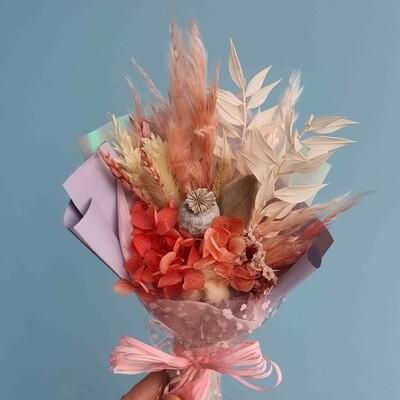 Bouquet Compliment field papaver