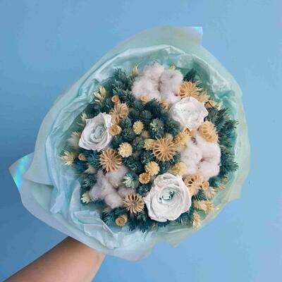 Bouquet round Tiffany