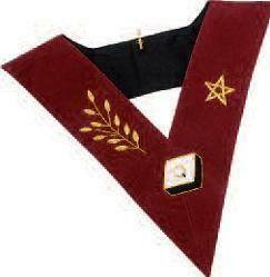 14ième Degré, Sautoir velours avec étoile et Branche.