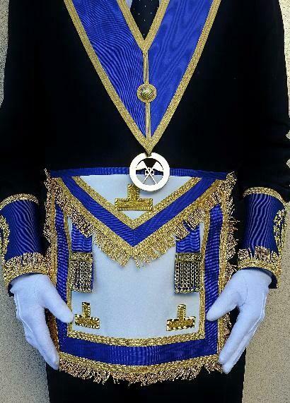 Tablier de Grande Tenue Officiers provinciaux (G.L.N.F., G.L.E.T,…).