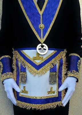 Sautoir de Grande Tenue Officiers Provinciaux.