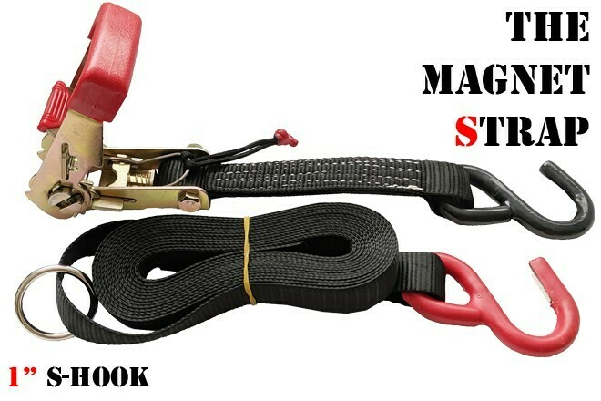 """1"""" Magnet Strap With S-Hooks"""