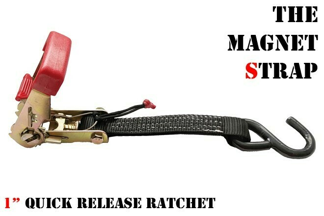 """1"""" Quick Release Ratchet with Easy Pull Lanyard"""