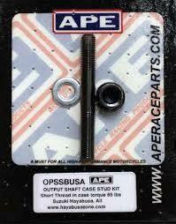 APE Output Shaft Case Stud Kit Hayabusa (99-19)