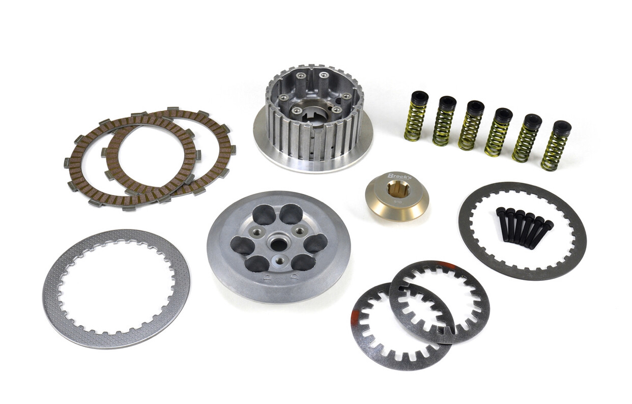 Brock's Clutch Conversion Kit with Ultra Light Billet Clutch Mod Kit for GSX-R1000/R (17-19)