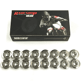 Vance & Hines Titanium Retainers Suzuki Hayabusa (99-19)