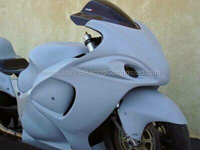 Catalyst Suzuki Hayabusa 08-19 SS Uppers