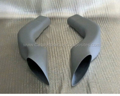 Catalyst Suzuki Hayabusa 08-19 Air Ducts