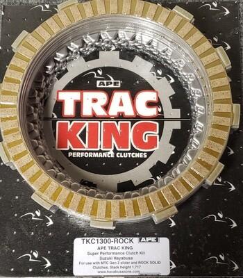 Trac King Clutch Plate Kit Hayabusa MTC Genll / Rock  Soild