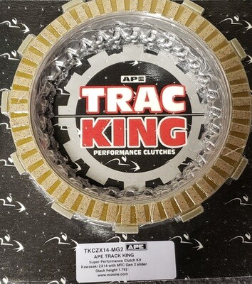 Trac King Clutch Plate Kit ZX14  MTC Genll