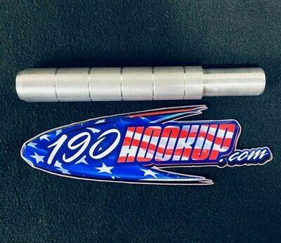 Hickman Customs Billet Aluminum Push Peg
