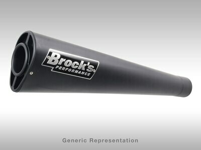 Brock's Alien Head Full System Black 20