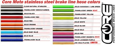 Custom Order Brake/Clutch lines