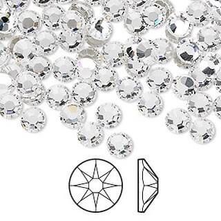 Swarovski Crystals - Xirius Rose cut, 144 count/pkg, Flat back No Hot Fix