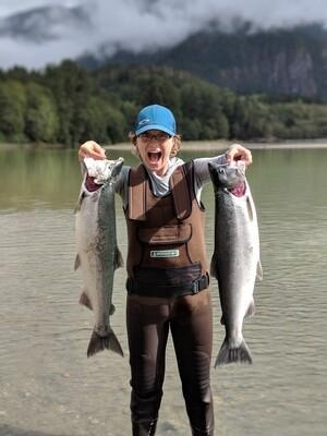 Women's Salmon Fishing Retreat