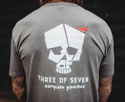 The 3 of 7 'logo shirt'