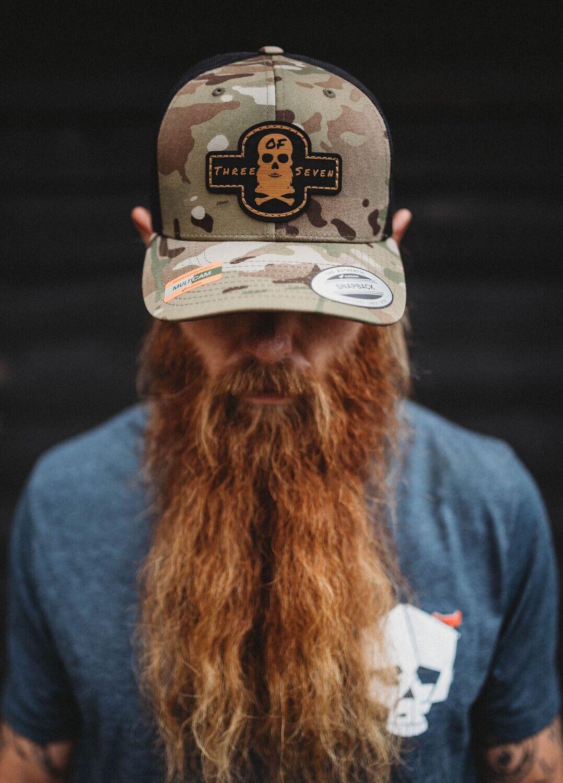 Multicam Patch Hat
