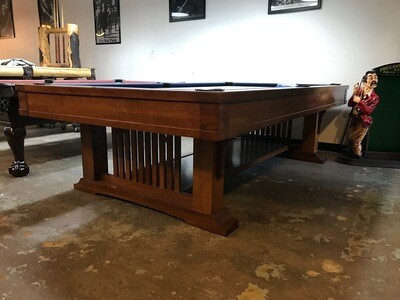 9' Brunswick Mission Pool Table
