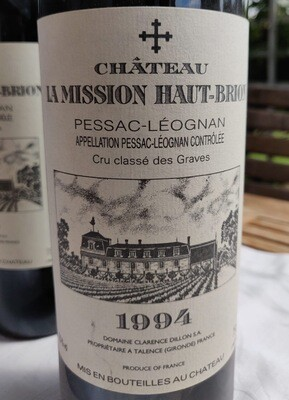 Chateau La Mission Haut- Brion 1994 0,75 l