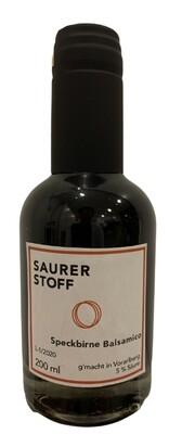 Speckbirne Balsamico 200 ml Saurerstoff