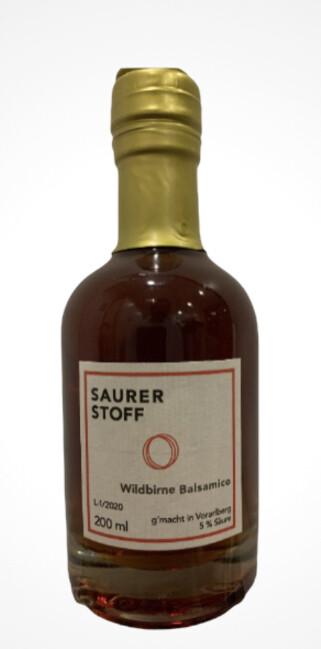 Wildbirne  Balsamico 200 ml Saurerstoff