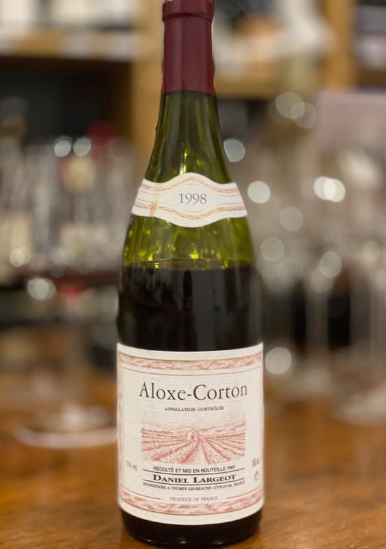 Aloxe- Corton 1998 Daniel Largeot 0,75 l