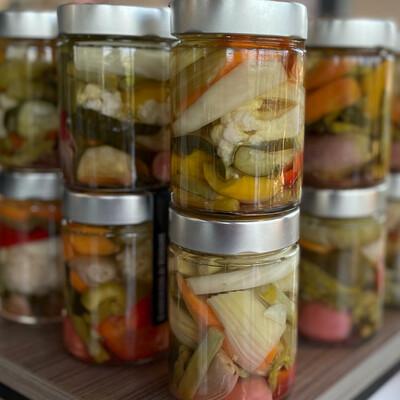 eingelegtes Gemüse 330 ml