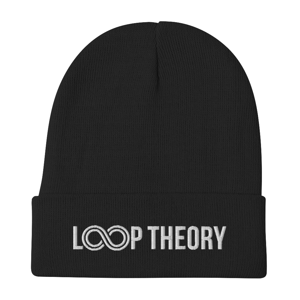 Loop Theory Embroidered Beanie