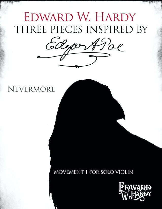 Nevermore (from Three Pieces Inspired by Edgar Allan Poe) - Solo Violin & MP3