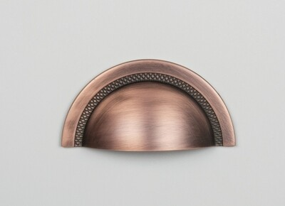 Puxador Shell cobre vecchio