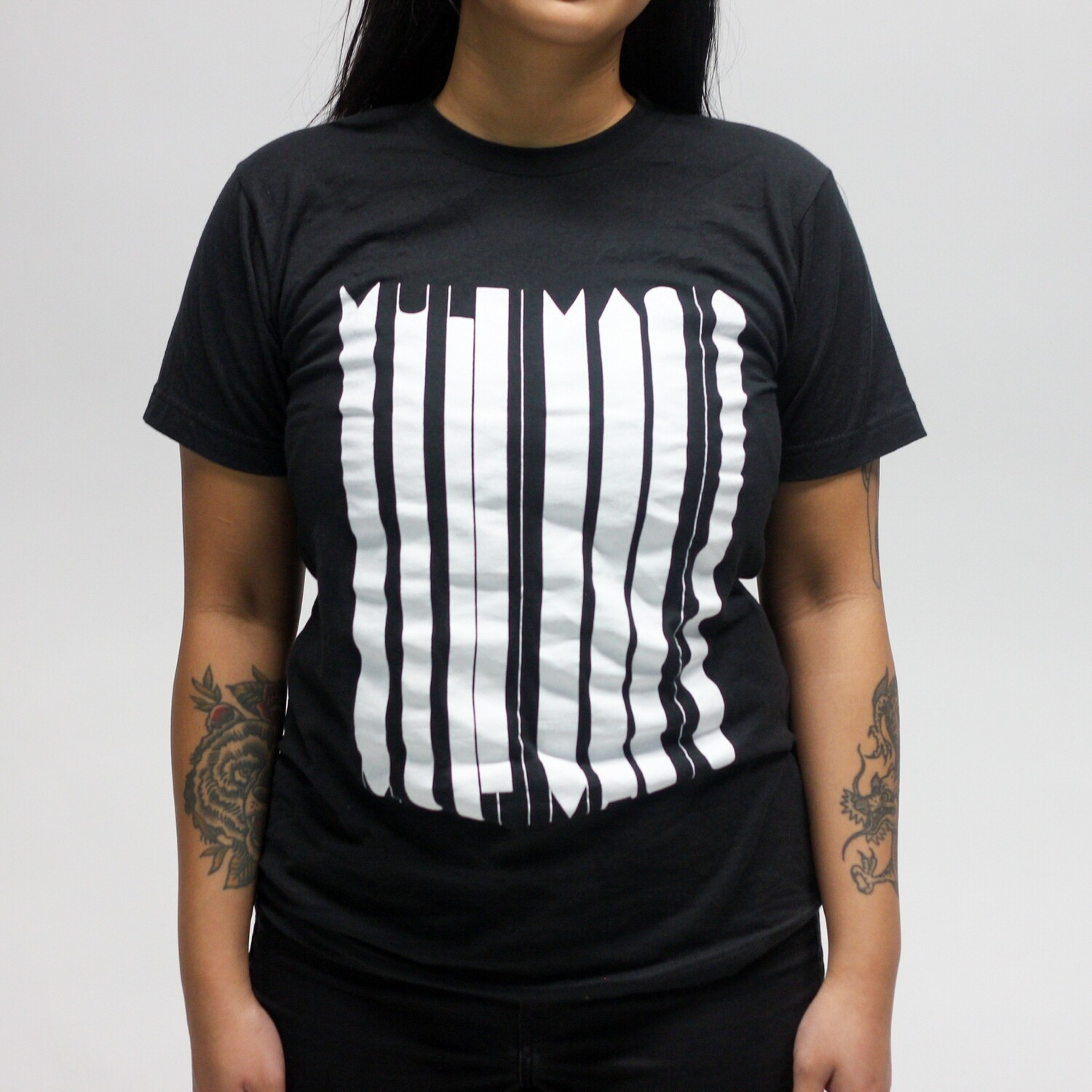 B/W Stretched MM Tee