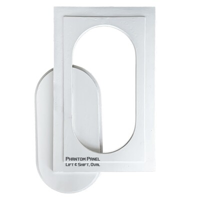 GFRG Drywall Access Door | Lift and Shift, Oval