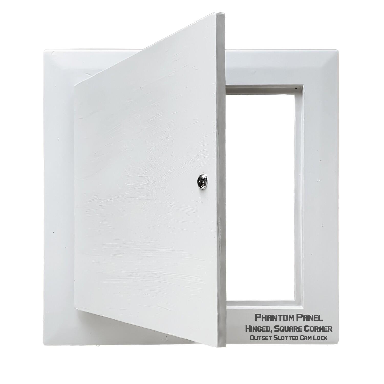 Phantom Panel | GFRG Drywall Access Door | Hinged, Square Corner