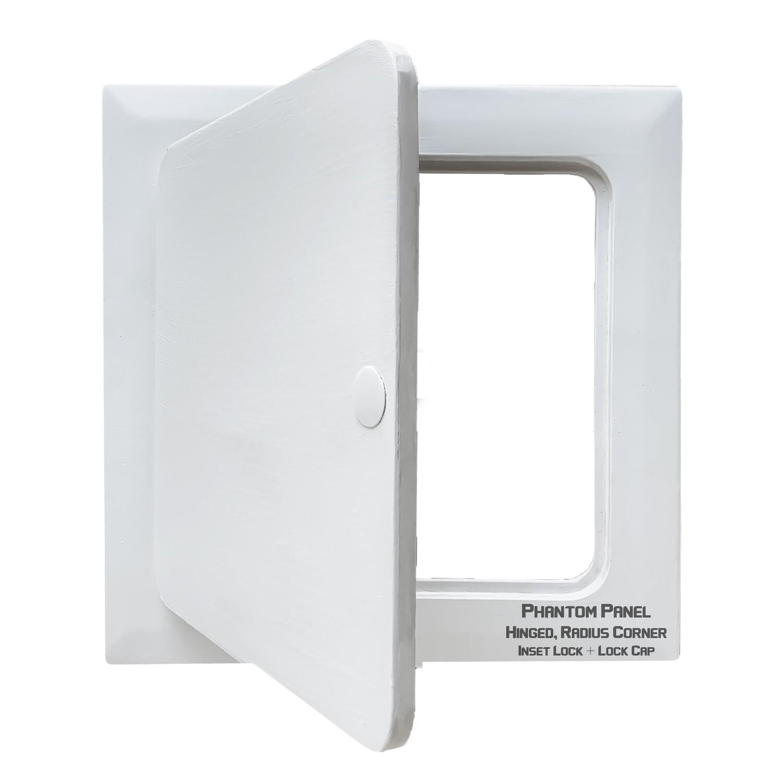 Phantom Panel | GFRG Drywall Access Door | Hinged, Radius Corner