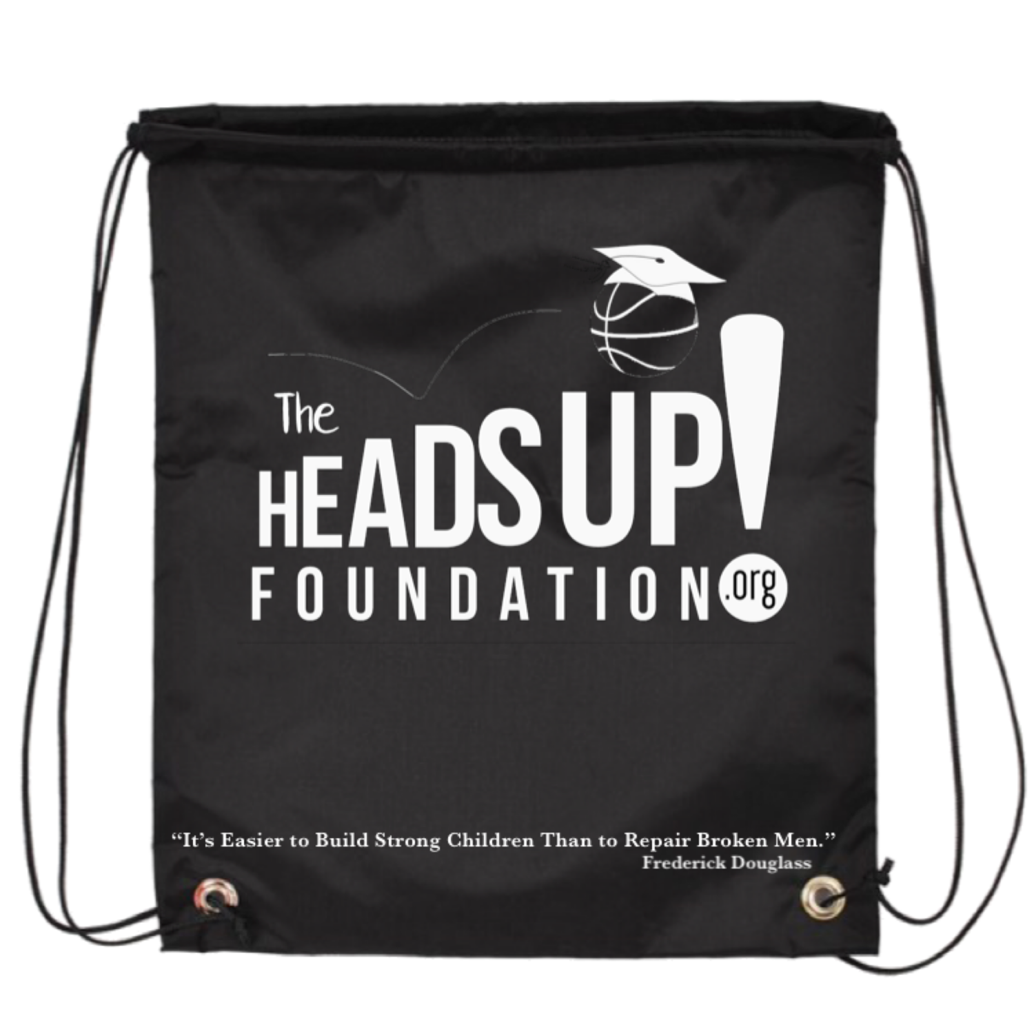 HeadsUp! Drawstring Backpack