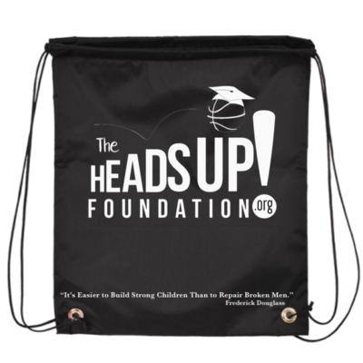 HeadsUp! Drawstring Backpack
