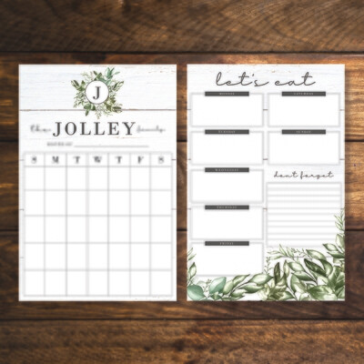 Family Organization Bundle - Farmhouse