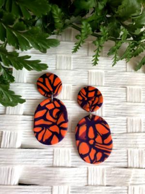 Clemson Earrings