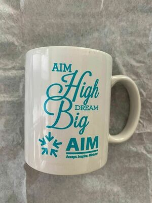 AIM High DREAM Big Coffee Mugs
