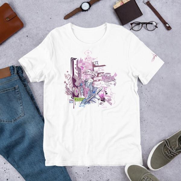 BLUTOWN Short-Sleeve Unisex T-Shirt