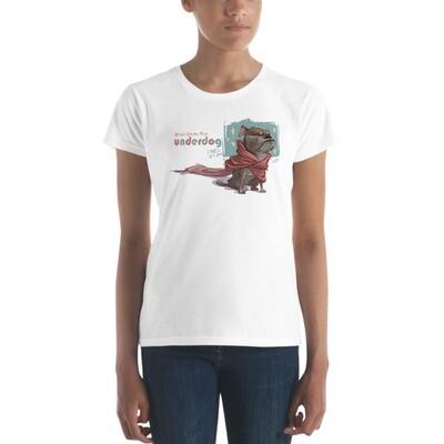 UNDERDOG Women's short sleeve t-shirt