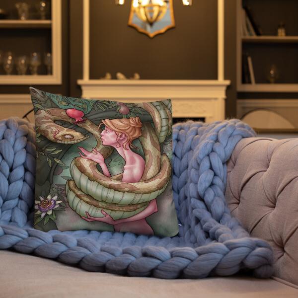 FALL & REDEMPTION Premium Pillow