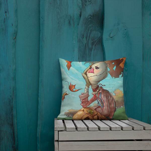 SCARECROW Premium Pillow