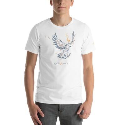 SPIRIT & TRUTH (Blue on White/Ash) Short-Sleeve Unisex T-Shirt