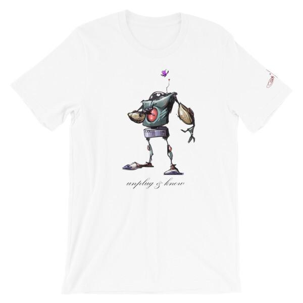 UNPLUG & KNOW Short-Sleeve Unisex T-Shirt