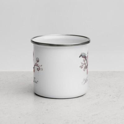 HOLD FAST Enamel Mug