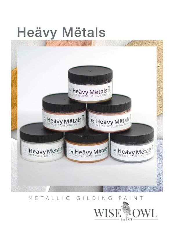 Heävy Mëtals Metallic Gilding Paint (4 oz Set of 6)