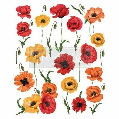 Poppy Gardens Décor Transfer