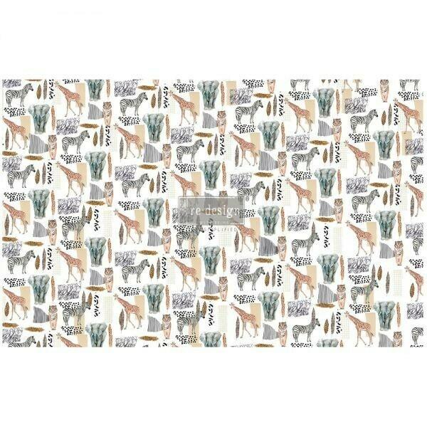 Decoupage Décor Tissue Paper - Safari