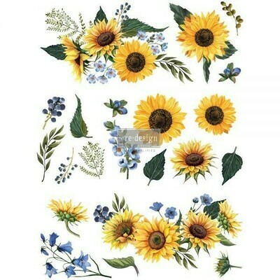 Décor Transfer - Sunflower Fields